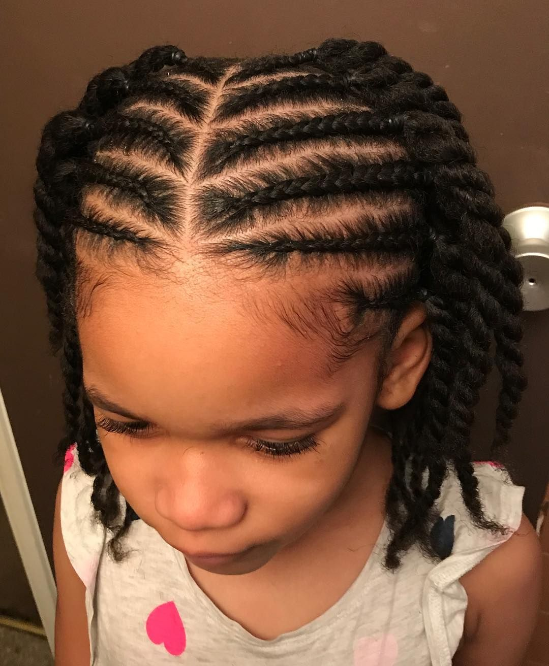 Image May Contain 1 Person Closeup Coiffures Pour Enfant Coiffure Cheveux Naturels Cheveux Naturels D Enfants