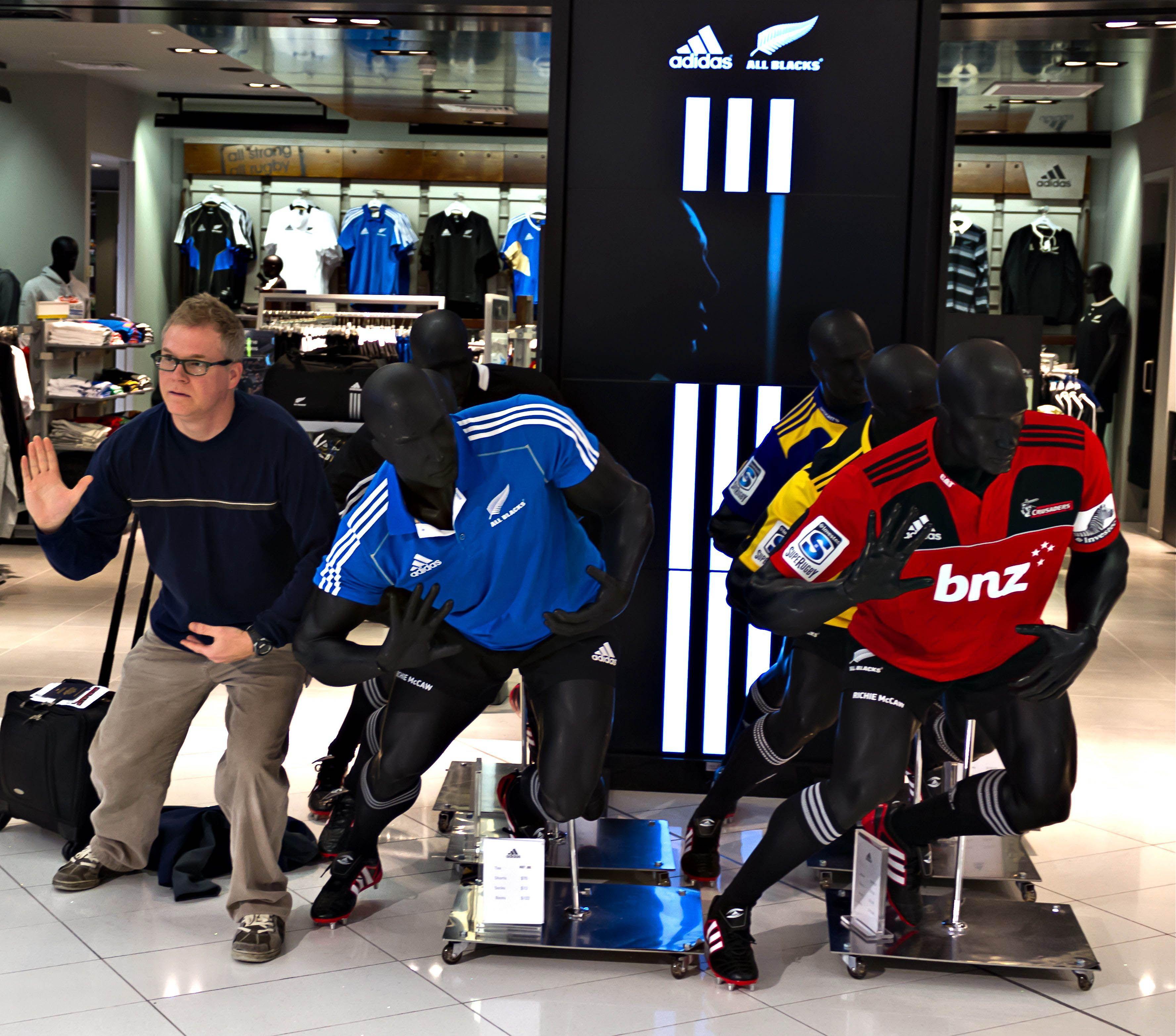 Auckland New Zealand Mannequins w Brian Franklin