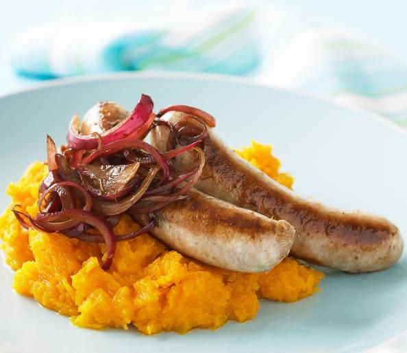 A Healthy Recipe For Bangers And Mash