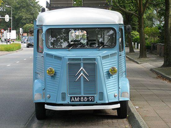 Tesoros En La Carretera Citroën Hy Camper Van 1967