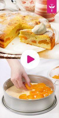 Käsekuchen ohne Boden - so geht's #simplecheesecakerecipe