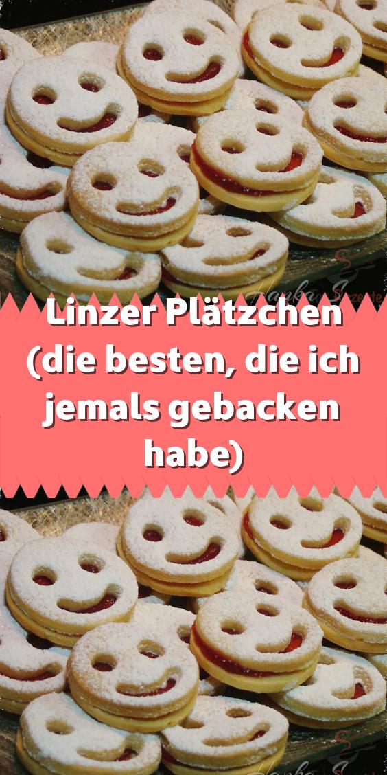 Linzer Plätzchen (die besten die ich jemals gebacken habe) #süßesbacken