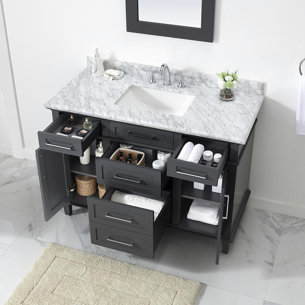 Home Depot Sonoma Vanity: Home Decorators Collection Sonoma 48 In. W X 22 In. D