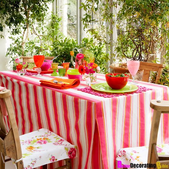 Designer's Best Kept Secret  1 Step Dining Table Makeover Enchanting Tablecloth For Dining Room Table Decorating Inspiration