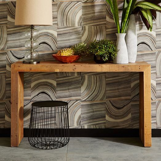 Emmerson Reclaimed Wood Console Natural In 2020 Reclaimed