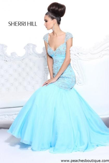 Sherri Hill Prom Dress 21036 at Peaches Boutique - 650 LOVE this bodice, *** not sure what colors they have