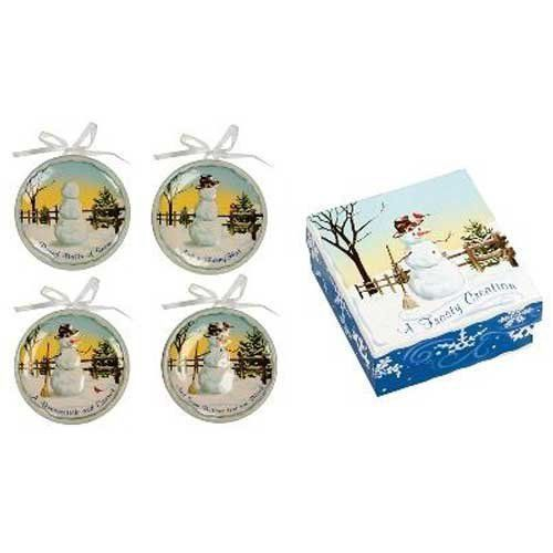 Really adorable Set of 4 Size 4.5 dia. This is a cute mini snowman plate set. Makes a fun decorative gift.  sc 1 st  Pinterest & A Frosty Creation Mini Plates by Manual Woodworkers. $24.98 ...