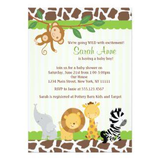 Baby Shower Invitations Custom Baby Shower Invites Zazzle Baby