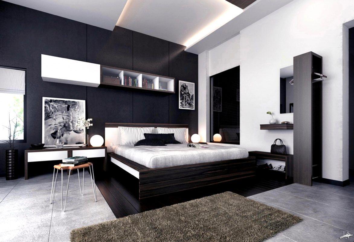 Image result for dark bedroom design Image