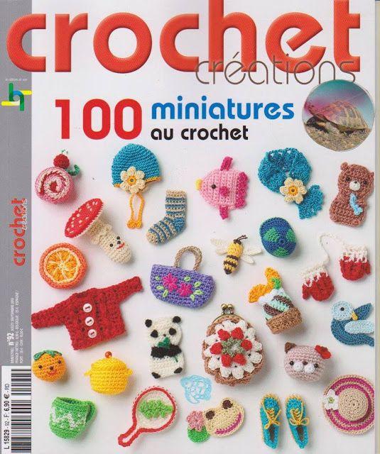 100 Miniaturas a Crochet - Libro para Descargar ~ CTejidas [Crochet ...