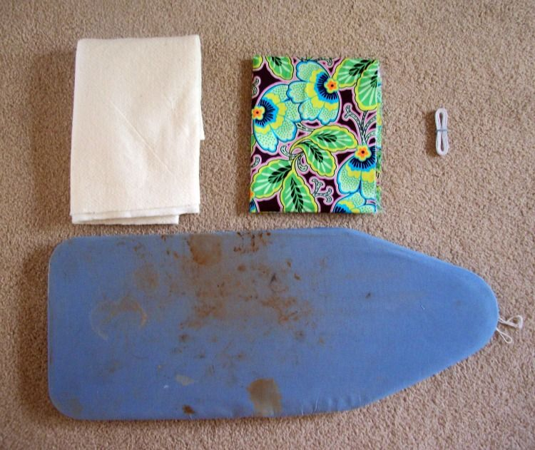 Super Simple Ironing Board Cover A Tutorial Ironing Board Covers Ironing Board Diy Projects To Try
