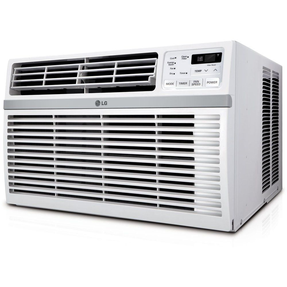 Lg 15 000 Btu Window Air Conditioner Refurbished White In 2020 Window Air Conditioner Best Window Air Conditioner Best Windows