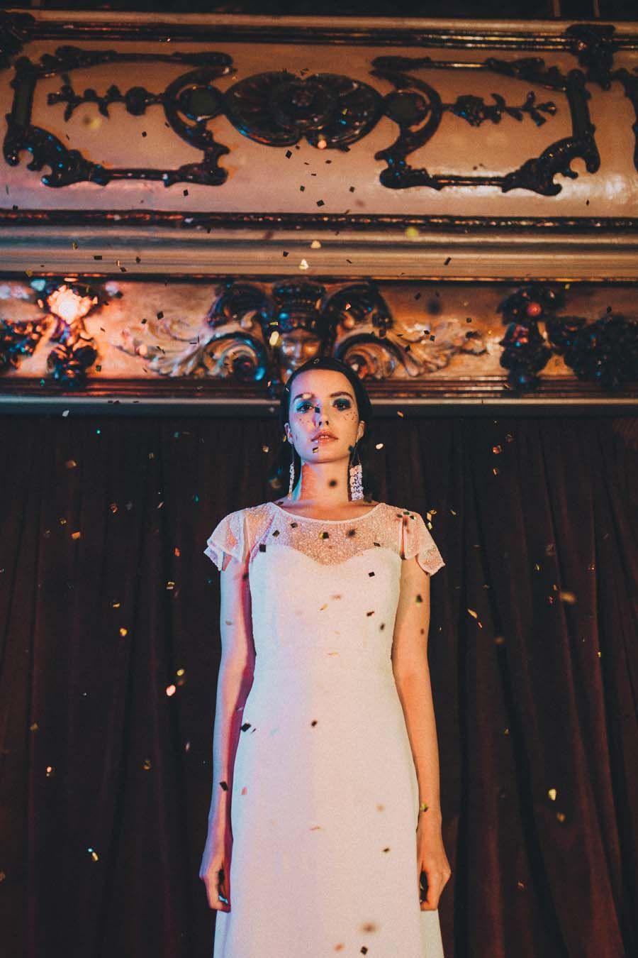 Glitter u disco beautiful s inspired wedding dresses by otaduy