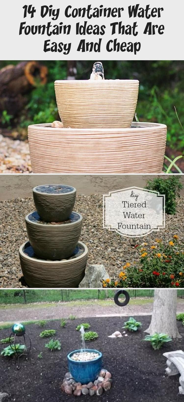 14 Diy Container Water Fountain Ideas That Are Easy And Cheap – GARDEN Balcony