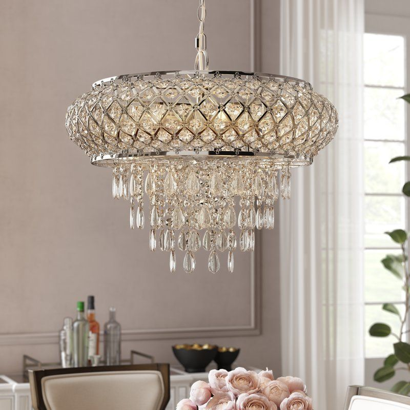 Hoang 5 Light Unique Statement Geometric Chandelier Chandelier Lighting Geometric Chandelier Plug In Chandelier