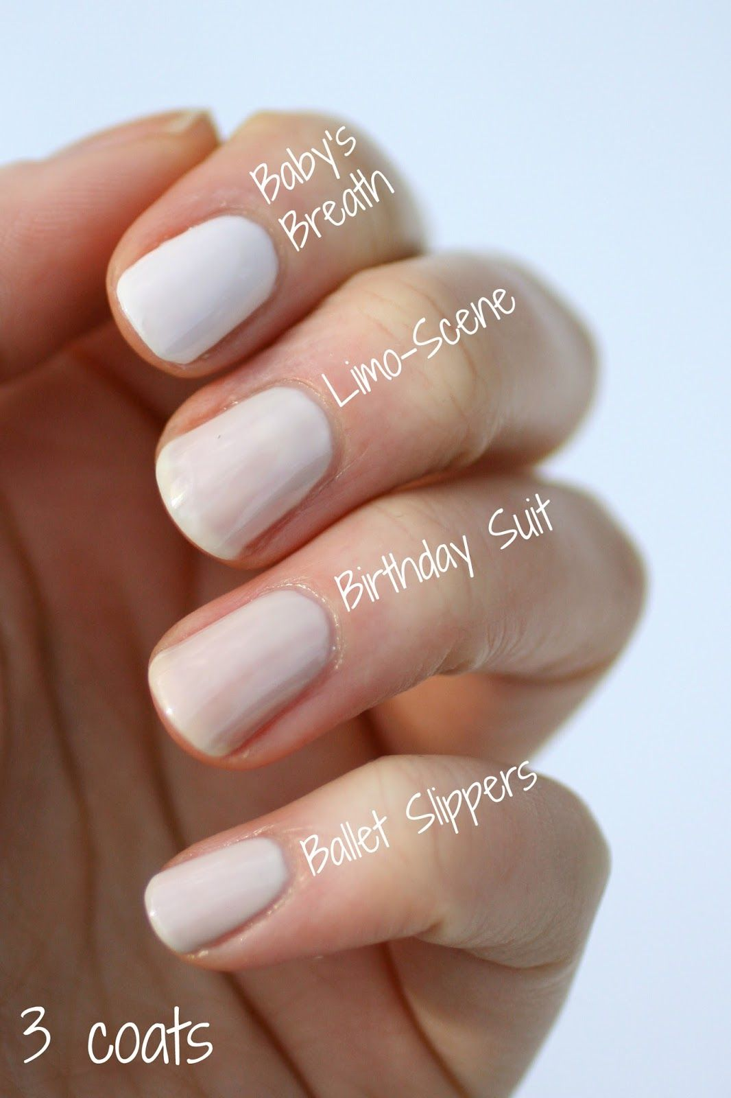 Essie Sheer Nude Comparison | Essie Envy | Essie Envy | Pinterest ...