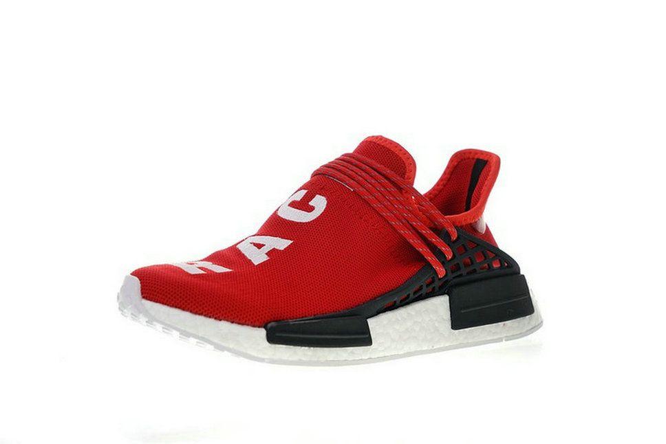 hot sale online 04e28 79e33 2018 New Arrival Adidas Pw Human Race Nmd Pharrell Bb0616 Scarle Scarle  Ftwwht Shoe