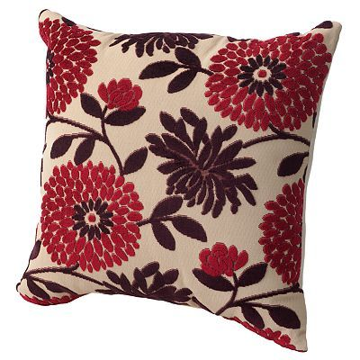 Kohls Decorative Pillows Glamorous Kohls Floral Square Decorative Pillow 20 X 20 $2499  Pillows Design Ideas