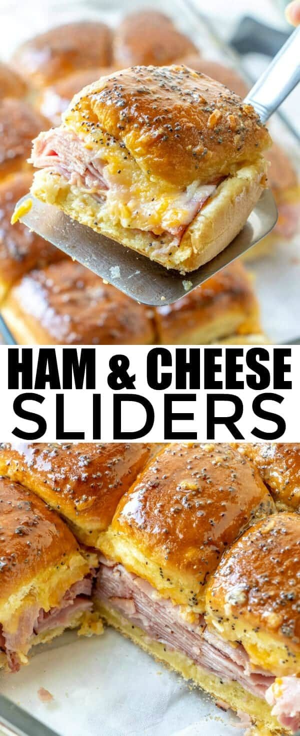 Quick, easy, filling and delicious these Ham and Cheese Sliders are a family favorite that goes a l