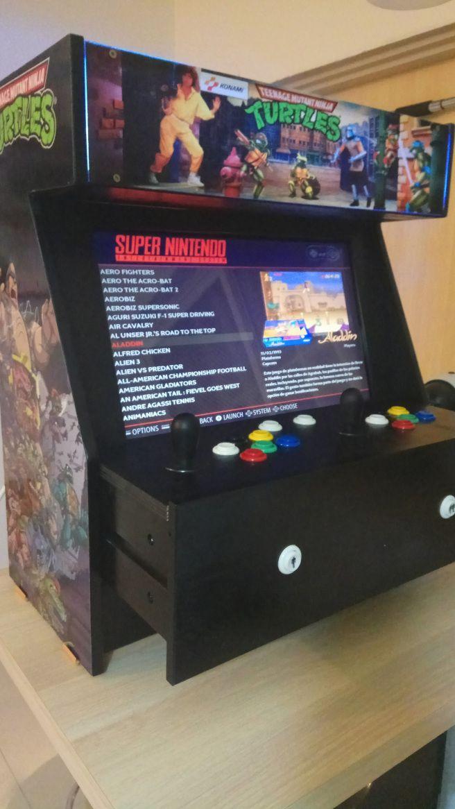 IKEA Hack: Bartop Arcade Machine with Retropie (IKEA Makeover