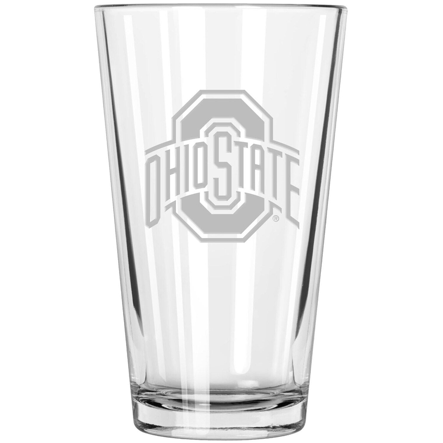 Ohio State Buckeyes Etched 16oz. Pint Glass