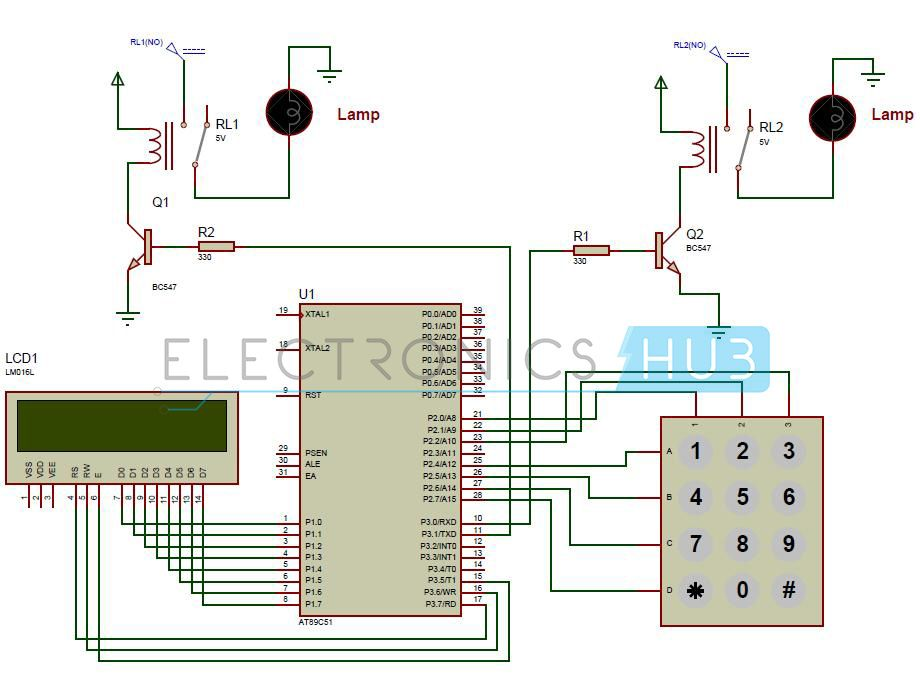 Astounding Password Based Circuit Breaker Project Circuit Working Electronics Wiring 101 Cranwise Assnl
