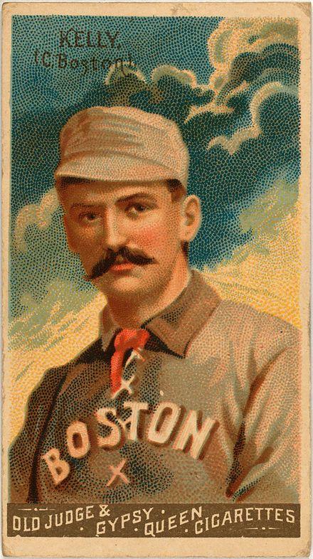 Cigarette baseball cards