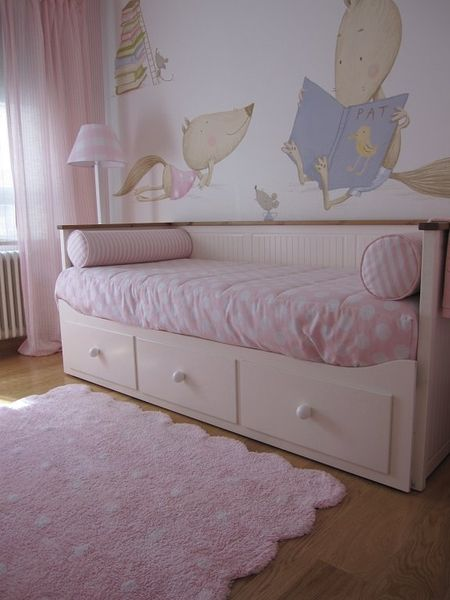 Alfombra galleta rosa lorena canals sisters room - Alfombras habitacion nino ...