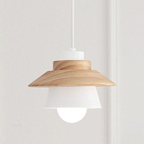 Lina coreana moderna ristorante creativa luminosa camera da letto in legno soggiorno lampadari in ferro
