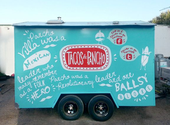 Tacos De Pancho Mexican Food Truck On Behance Mexican Food