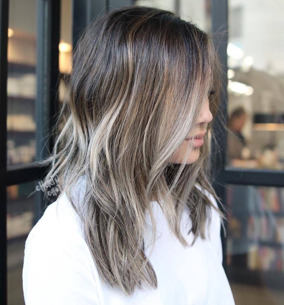 Cool Tones Blended From Level 2 Hair Brunette Brunettehair Hair