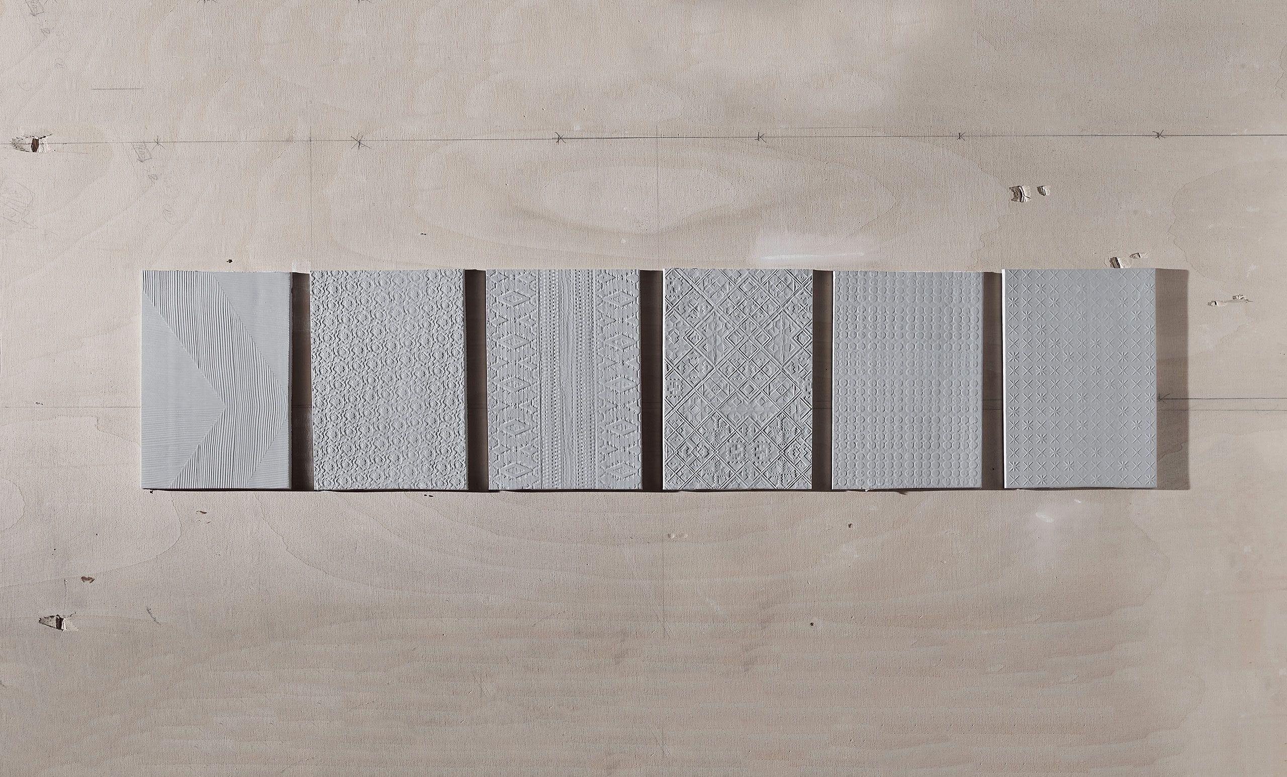 Quadro artistico formato da piastrelle foto di museo provinciale