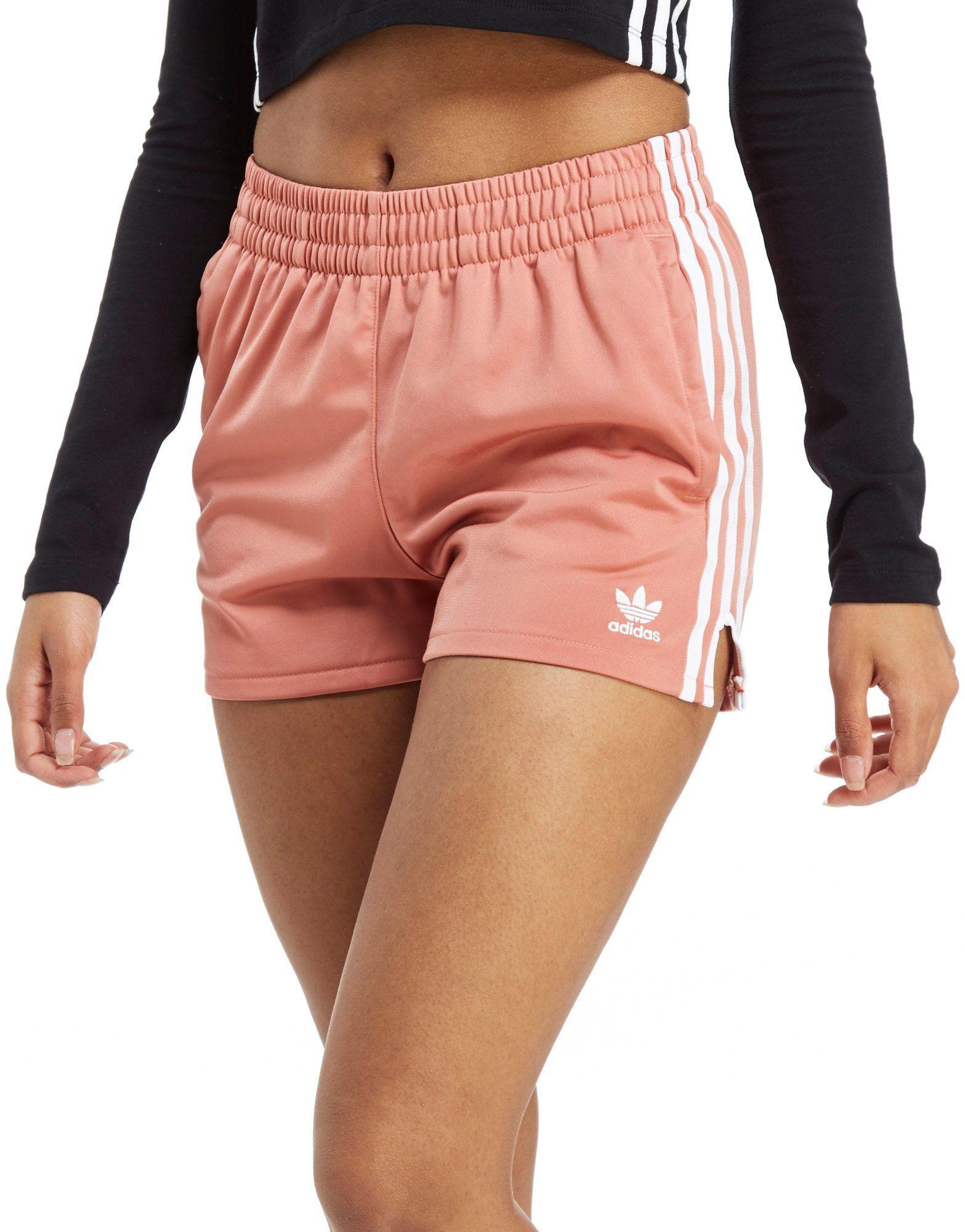 5401756c4e7 adidas Originals 3-Stripe Poly Shorts - Shop online for adidas Originals 3- Stripe Poly Shorts with JD Sports, the UK's leading sports fashion retailer.
