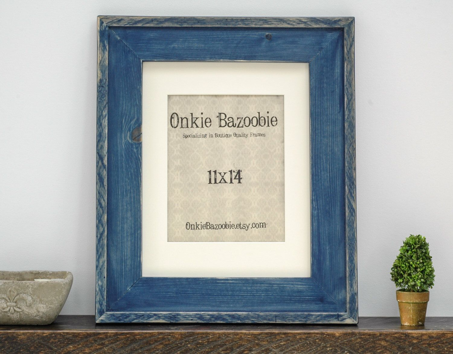 Rustic Wood Picture Frame, Rustic Picture Frame, 11x14 Wood picture ...