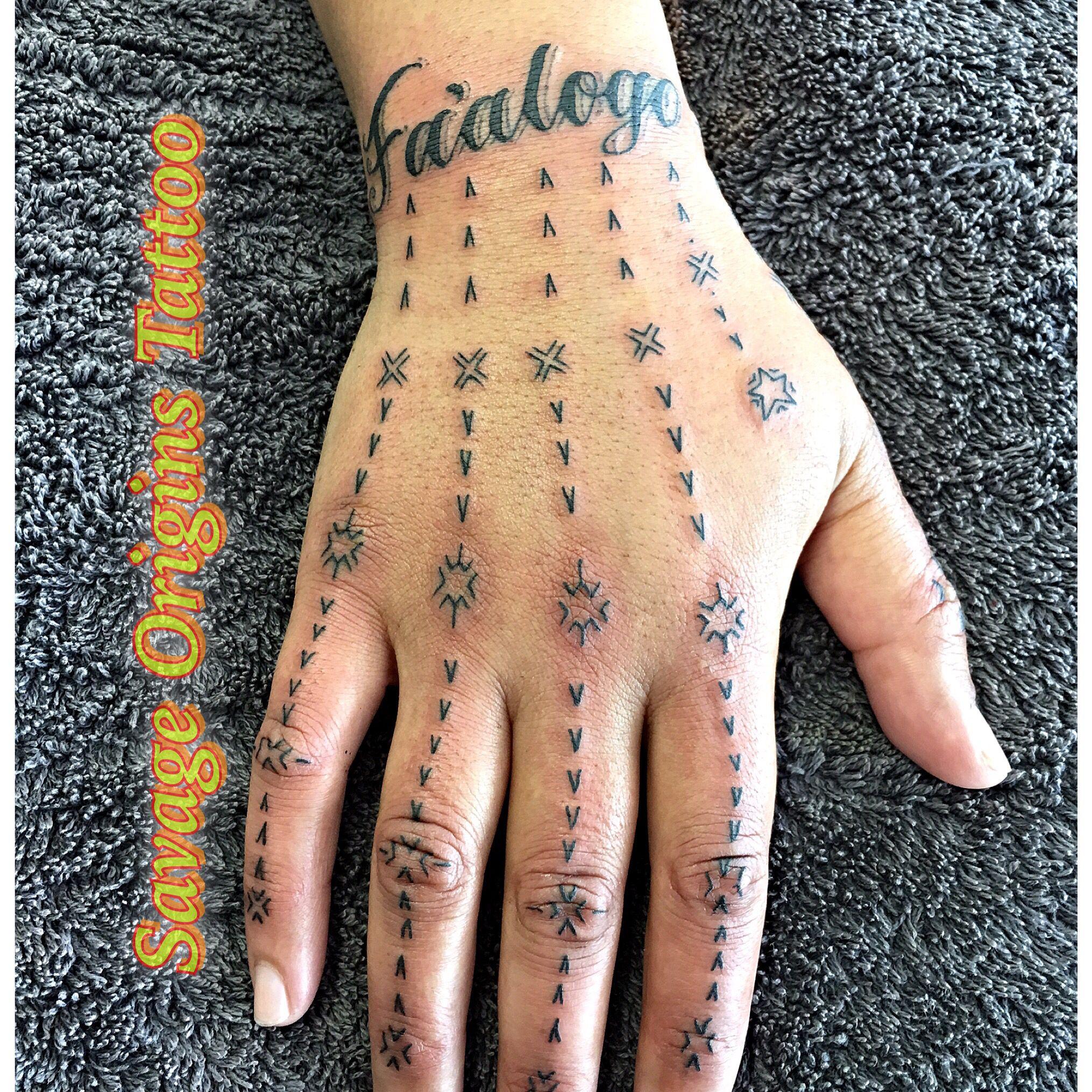 Samoan Hand Tattoo Hawaiian Tattoo Polynesian Tattoos Women Hand Tattoos