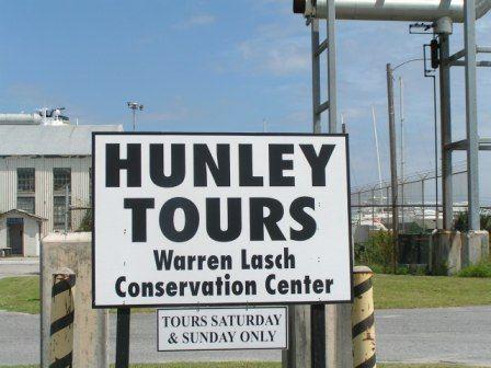 warren lasch conservation center hunley tours sat 10 5 and sun 12