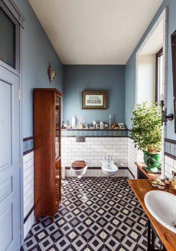 40 Ideen für Zementfliesen - heißer Trend in der Badezimmergestaltung