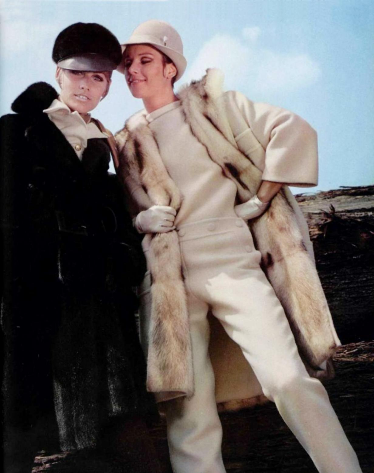 Nina Ricci - Gres 1967 L'officiel magazine
