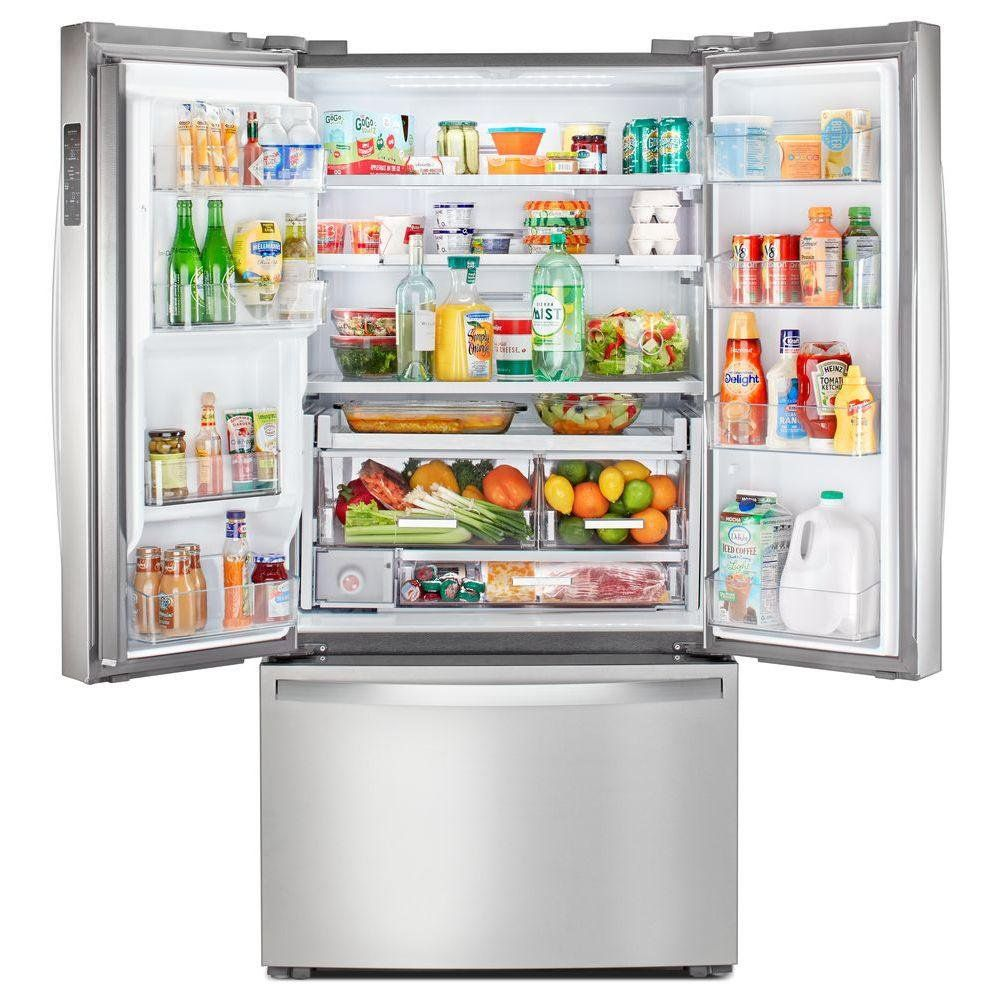 Whirlpool Counter Depth French Door Refrigerator 23 8 Cu Ft