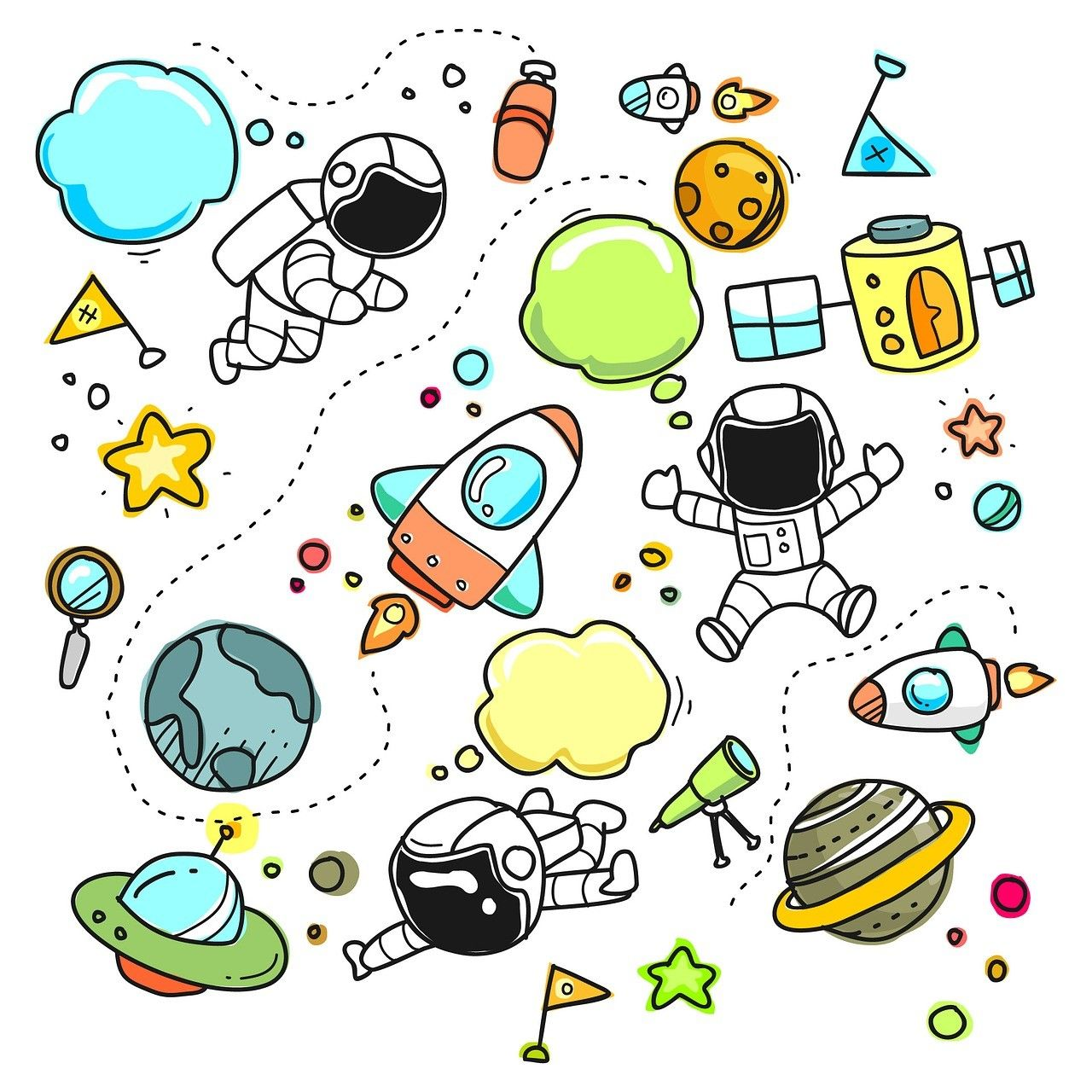3d Whiteboard Animations Cute Cartoon Pictures Cute Sketches Space Doodles
