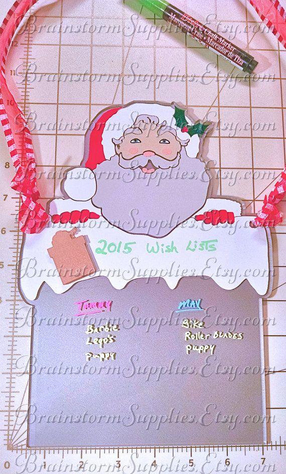 Christmas Wish List Wall Display 10 Quot Sign Acrylic Blank Un Decorated Diy Christmas Wish List Hanger G Christmas Signs Christmas Clothespins Wall Display