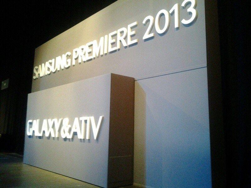 Samsung Premiere 2013 - Galaxy & Ativ