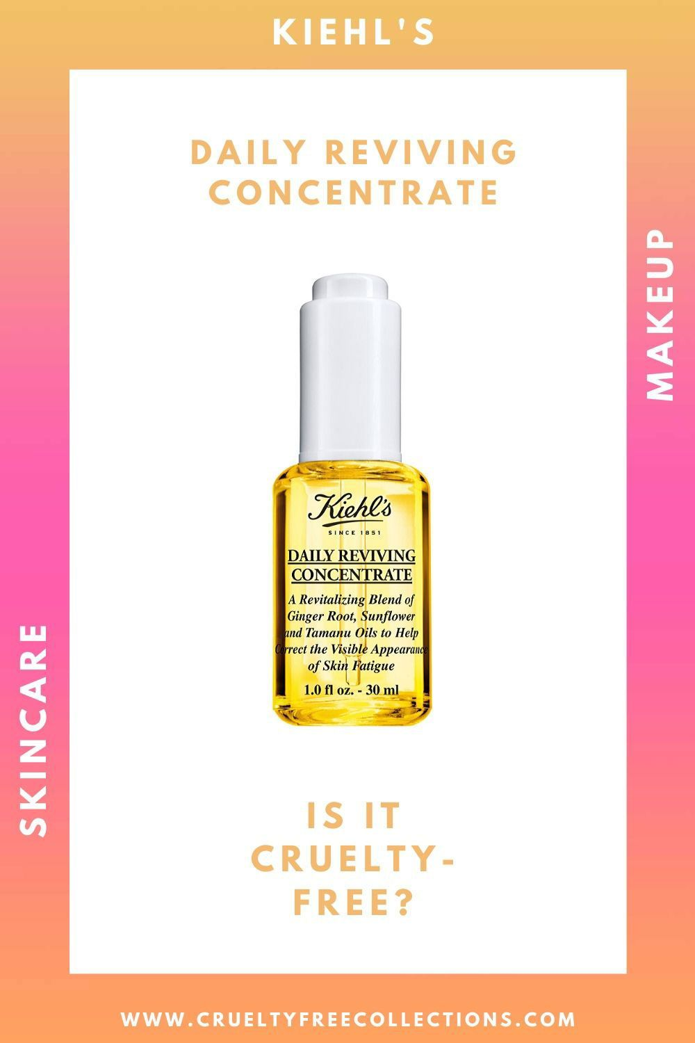 Kiehl's Daily Reviving Concentrate in 2020 Kiehls