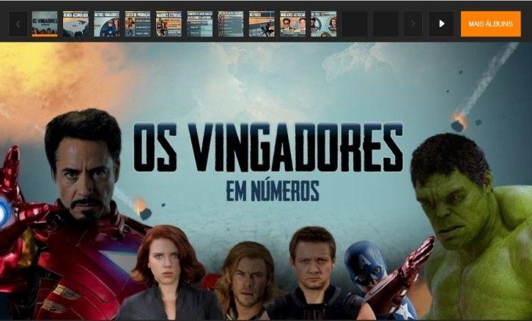 """""""Os Vingadores"""" em números"""