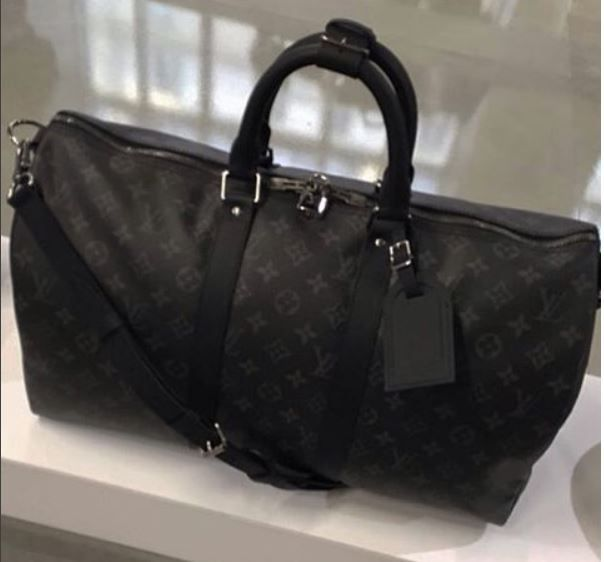 Louis Vuitton Monogram Eclipse Keepall