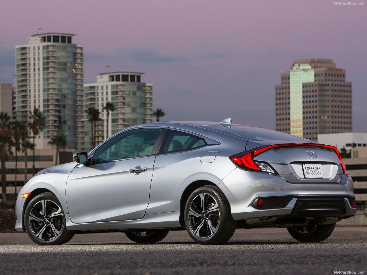 2016 Honda Civic coupe Honda civic, Honda civic si coupe