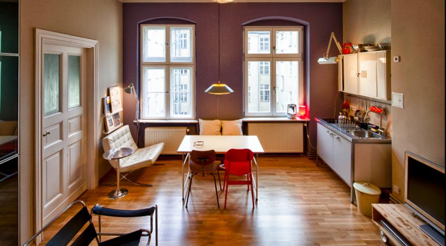 esszimmer und wohnzimmer in einem r ume. Black Bedroom Furniture Sets. Home Design Ideas