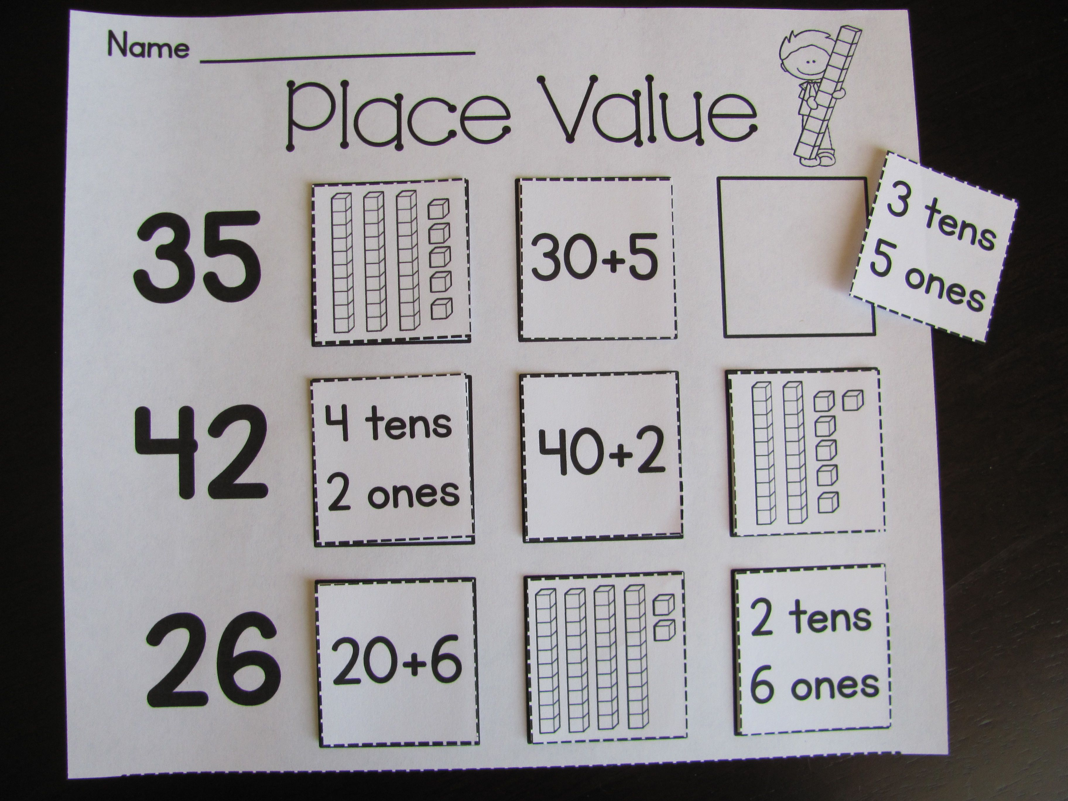 First Grade Math Unit 9 Place Value Worksheets Games And Activities Bundle First Grade Math Place Value Worksheets Place Values [ 2736 x 3648 Pixel ]
