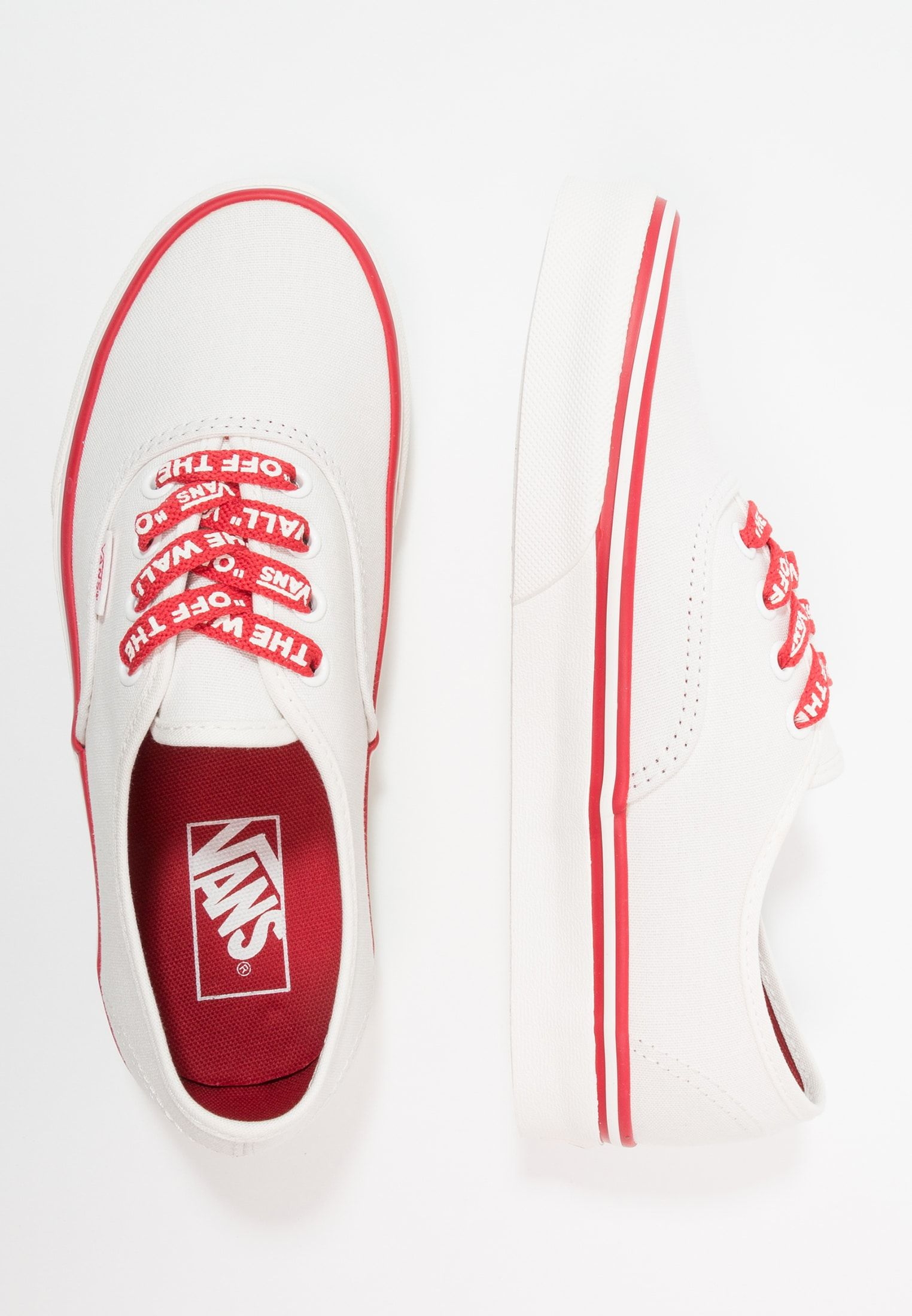 AUTHENTIC Sneaker low bright whiterocco red @ Zalando