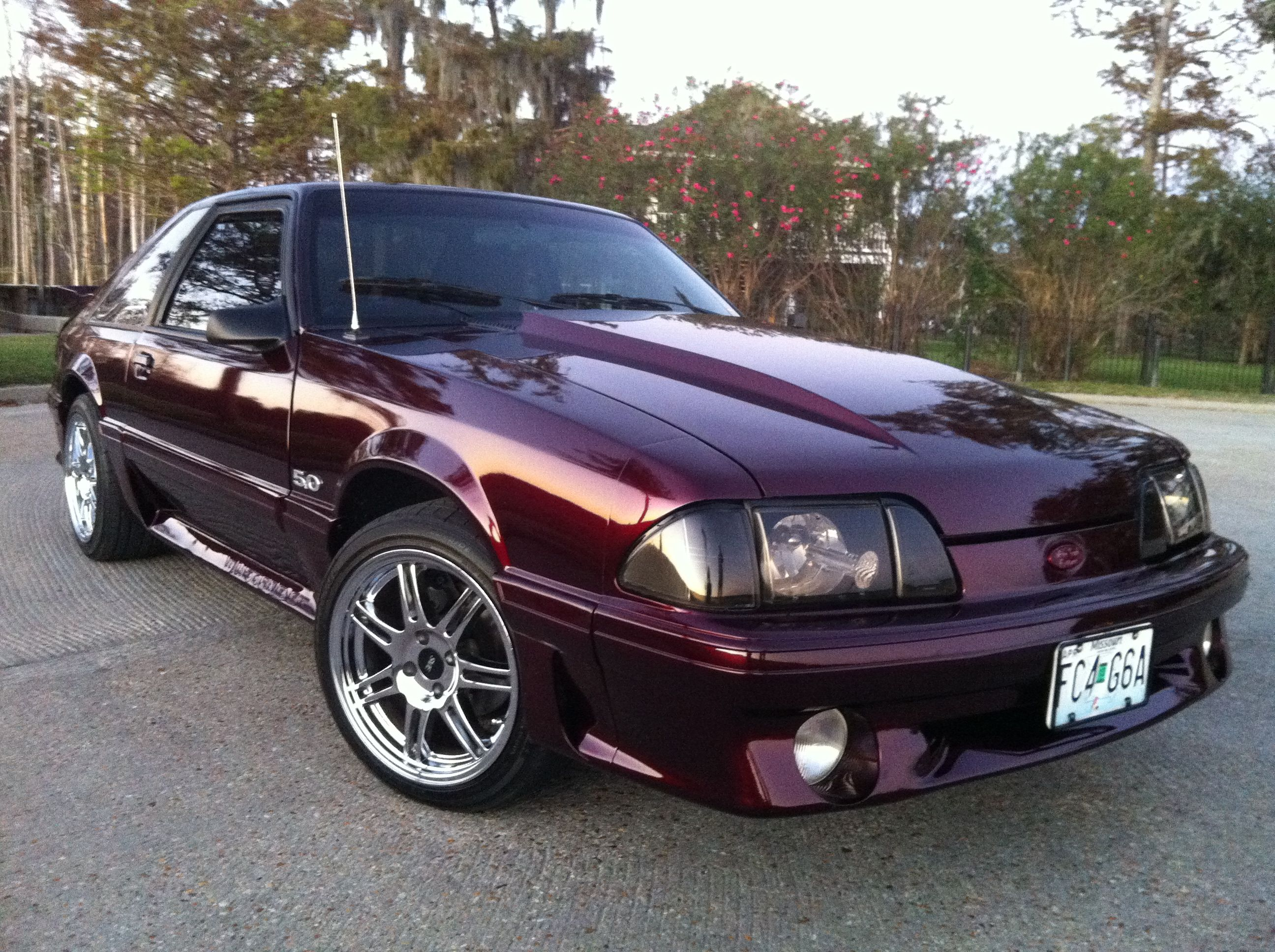 89 ford mustang ugh im in heaven
